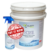 chisel medium heavy duty caustic cleaner chemical cleaning solution