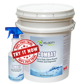 Combat heavy-duty citrus based cleaner degreaser
