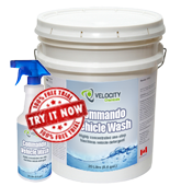 Commando Vehicle Wash Detergent for vehicle cleaning and degreasing