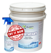 Heavyweight - Heavy-Duty, Caustic Liquid Cleaner