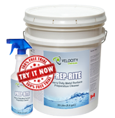 Velocity - Prep-Rite: Heavy Duty Metal Surface Preparation Cleaner | Industrial  Chemical Cleaning Solution