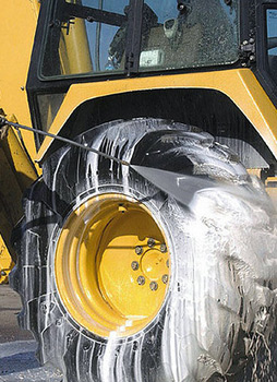 Heavy Equipment Cleaning Power Washing