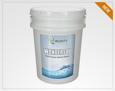 Wondersol Multi-Pupose Alkaline-Cleaner Velocity Chemicals