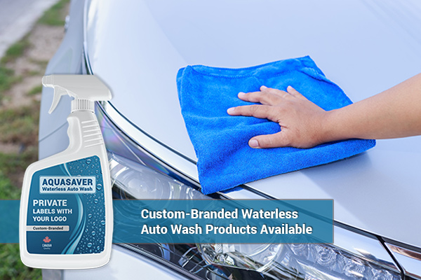 VELOCITY - AQUASAVER: Spray-On Waterless Auto Wash |  Custom-Branding, Private Label