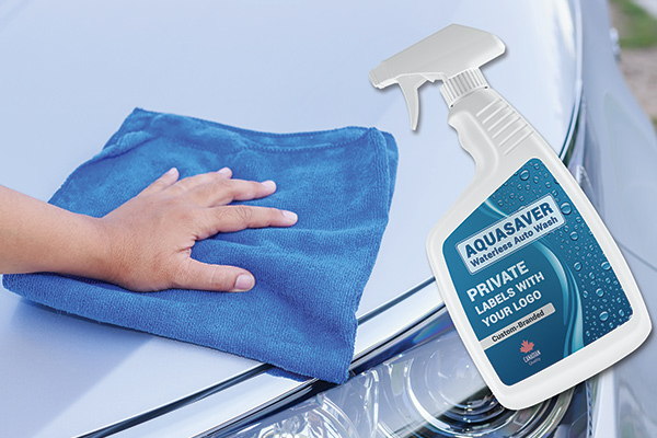 Waterless Car Wash Business - AQUASAVER: Spray-On Waterless Auto Wash and Shine |  Private Label