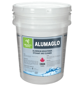 VELOCITY - ALUMAGLO: Aluminum Brightener, Etchant and Cleaner | Truck Industry Chemical Cleaning Solutions