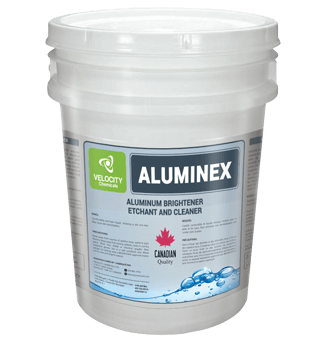 VELOCITY - ALUMINEX: Aluminum Brightener, Etchant and Cleaner | Food Processing Chemical Cleaning Solutions