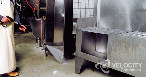 VELOCITY - Disinfecting Food Processing Operations | Hatcheries Poultry Swine Premises