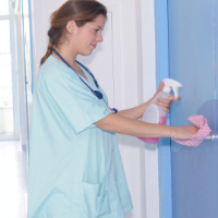 COVID19 Healthcare Services Disinfectant Supply | Disinfect Periodically