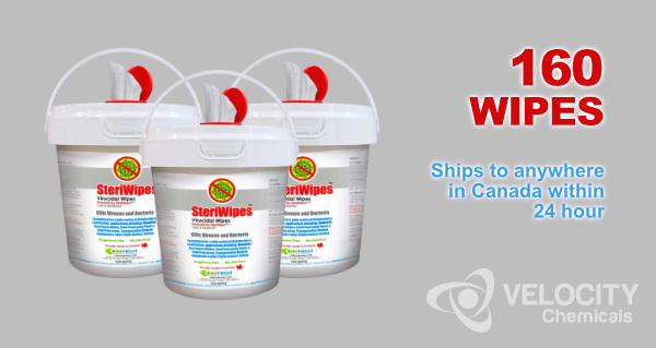 SteriWipes: Virucidal Wipes - Bulk Purchase Available